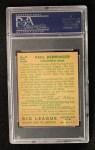 1934 Goudey #84   Paul Derringer Back Thumbnail