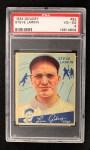 1934 Goudey #92   Stephen Larkin Front Thumbnail