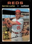 1971 Topps #478  Bernie Carbo  Front Thumbnail