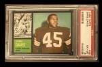 1962 Topps #36  Ernie Davis  Front Thumbnail