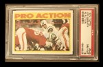 1972 Topps #343  Pro Action  -  Joe Namath Front Thumbnail