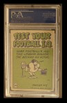 1972 Topps #343  Pro Action  -  Joe Namath Back Thumbnail