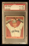 1933 Goudey #7   Ted Lyons Front Thumbnail