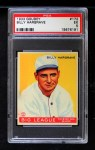 1933 Goudey #172   Billy Hargrave Front Thumbnail