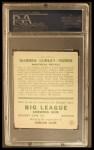 1933 Goudey #174   Warren Ogden Back Thumbnail