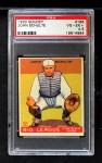 1933 Goudey #186   John Schulte Front Thumbnail