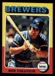 1975 Topps #456   Bob Coluccio Front Thumbnail