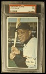 1964 Topps Giants #51  Willie Mays  Front Thumbnail