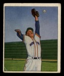 1950 Bowman #82   Whitey Lockman Front Thumbnail
