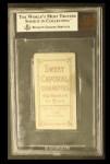 1909 T206 #47   Dave Brain Back Thumbnail