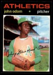 1971 Topps #523  Blue Moon Odom  Front Thumbnail