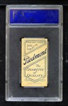 1909 T206 #214 TOL Harry Hinchman  Back Thumbnail