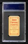 1909 T206 #516  Owen Wilson  Back Thumbnail