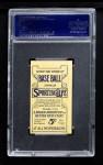 1910 M116 Sporting Life #25   Lena Blackburne Back Thumbnail