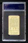 1911 T205 #115   Edgar Lennox Back Thumbnail