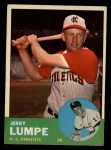 1963 Topps #256   Jerry Lumpe Front Thumbnail