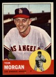 1963 Topps #421   Tom Morgan Front Thumbnail