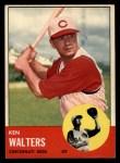 1963 Topps #534  Ken Walters  Front Thumbnail