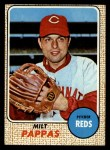 1968 Topps #74   Milt Pappas Front Thumbnail