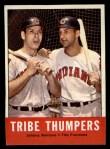 1963 Topps #392  Tribe Thumpers    -  Johnny Romano / Tito Francona Front Thumbnail