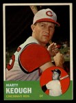 1963 Topps #21 WHI  Marty Keough Front Thumbnail