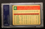 1959 Topps #49  Bill Hall  Back Thumbnail