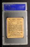 1948 Bowman #30   Whitey Lockman Back Thumbnail