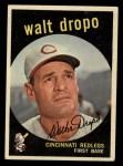 1959 Topps #158   Walt Dropo Front Thumbnail