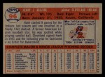 1957 Topps #96   Hank Aguirre Back Thumbnail