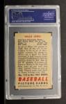 1951 Bowman #112  Willie Jones  Back Thumbnail