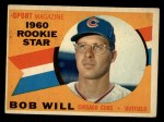 1960 Topps #147  Rookies  -  Bob Will Front Thumbnail