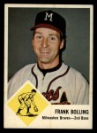 1963 Fleer #44   Frank Bolling Front Thumbnail