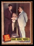 1962 Topps #136 A Babe Joins Yanks  -  Babe Ruth Front Thumbnail