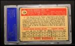 1952 Topps #170   Gus Bell Back Thumbnail
