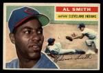 1956 Topps #105   Al Smith Front Thumbnail