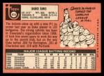 1969 Topps #414   Duke Sims Back Thumbnail