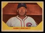 1960 Fleer #29   Gabby Hartnett Front Thumbnail