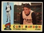 1960 Topps #49  Curt Raydon  Front Thumbnail