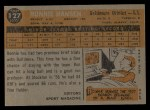 1960 Topps #127   -  Ron Hansen Rookies Back Thumbnail