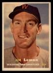 1957 Topps #57   Jim Lemon Front Thumbnail