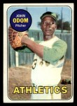 1969 Topps #195   Blue Moon Odom Front Thumbnail