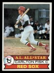 1979 Topps #680   Carlton Fisk Front Thumbnail