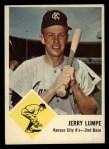 1963 Fleer #16   Jerry Lumpe Front Thumbnail