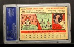 1956 Topps #10  Warren Spahn  Back Thumbnail