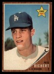 1962 Topps #131 A Pete Richert  Front Thumbnail