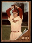1962 Topps #111 A Dallas Green  Front Thumbnail