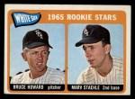 1965 Topps #41   White Sox Rookie Stars  -  Bruce Howard / Marv Staehle Front Thumbnail