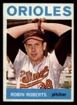 1964 Topps #285  Robin Roberts  Front Thumbnail