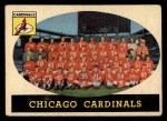 1958 Topps #69  Cardinals Team  Front Thumbnail