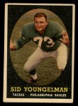1958 Topps #24   Sid Youngelman Front Thumbnail